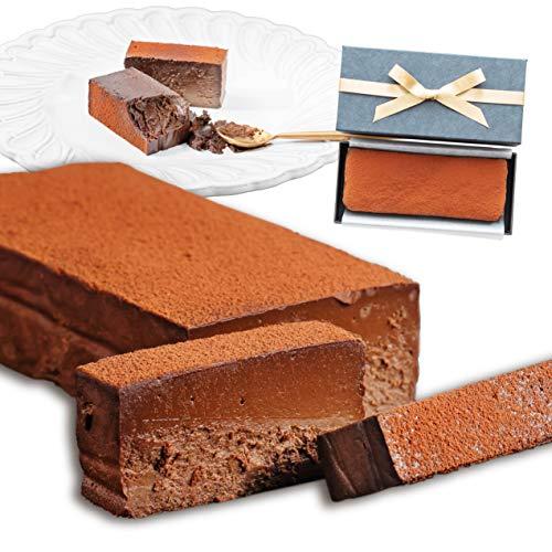 【Patico】贅沢 生チョコケーキ テリーヌショコラ 濃厚 ギフト お取り寄せスイーツ 内祝い お返し 手土産 バレンタイン ホワイトデー