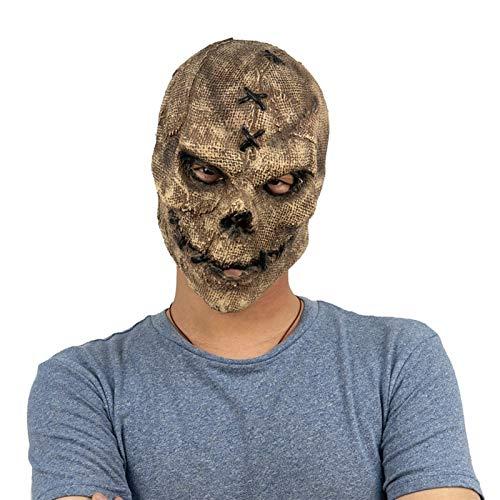 Bidet Cara asustadiza del Horror de Halloween mscara de ltex mscara del Horror Asesino crneo de la mscara de Cosplay esqueltico asustadizo Halloween Party Casco Complementos Disfraz