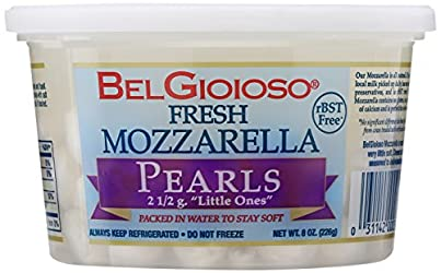 Belgioioso, Fresh Perline Mozzarella Cup, 8 oz