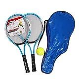 Lifesongs Tennis Schläger Set Kinder, Mit Tennistasche,Overgrip, Vibrationsdämpfer