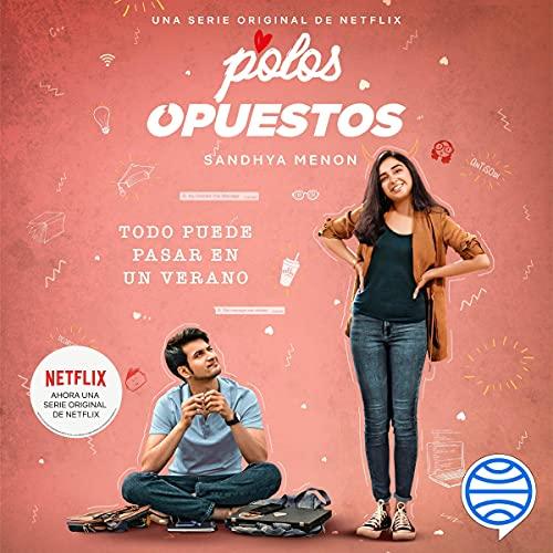 Diseño de la portada del título Polos opuestos