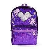 Sequin Backpack for Girls Glitter School Backpack Kids Kindergarten Elementary Bookbag Mermaid Backpack