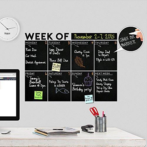 Modern 2019 Chalkboard Weekly