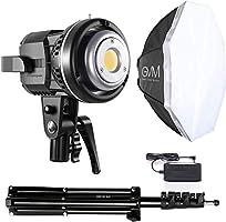 GVM LED Softbox Video Light, LED Photo Studio Lighting with Tripod CRI97 5600K Daylight Photo Light LED Continuous Light...