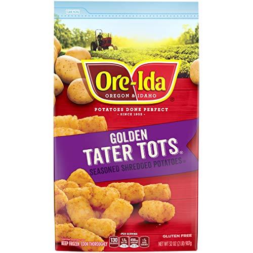 Ore-Ida Frozen Golden Tater Tots (32 oz Bag)