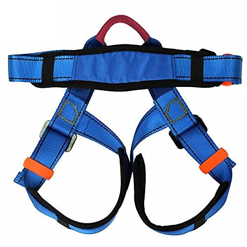 ロッククライミング安全ベルト、子供用ハーフレングス指向の安全ベルト、登山やアウトドアレスキュークライミング機器に適しています