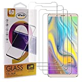 Guran 4 Paquete Cristal Templado Protector de Pantalla para Bluboo S3 Smartphone 9H Dureza Anti-Ara?azos Alta Definicion Transparente Película