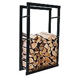Con questo rack esclusivo di legna da ardere si ottiene un vero gioiello in casa. Il design moderno e senza tempo rende ogni salotto un tocco molto speciale. Utilizzando materiali di alta qualità, questo prodotto è fatto a mano e promette la massima ...