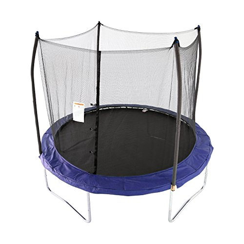 Skywalker Trampolines 10 -Foot Round Trampoline and Enclosure with Spring | Blue