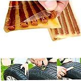 Hotaden 5pcs / neumático sin Tubo de reparación de automóviles Bici de la Vespa Motocicleta del Coche de Goma Tiras de reparación de neumáticos sellador de neumáticos Reparación de Gaza