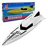 RC Boat, Remote Control Boat for Adults and Kids 4 Channel 2.4GHZ High Speed Racing Outdoor Electric Rechargeable Fast RC Boat Toys