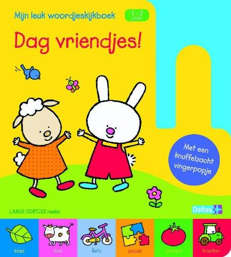 Mijn leuk woordjeskijkboekDag vriendjes 1-3 jr.: met vingerpopje