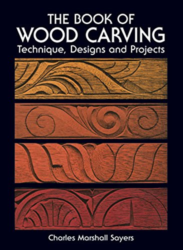 The Book of Wood Carving (Dover Woodworking) (English Edition)