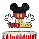 Mickey Oh Twodles Cake Topper, 2nd Birthday...