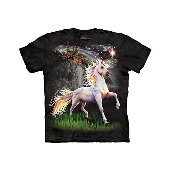 The Mountain Men's Unicorn Castle T-Shirt 3