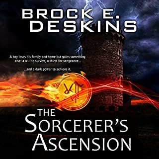 The Sorcerer's Ascension audiobook cover art