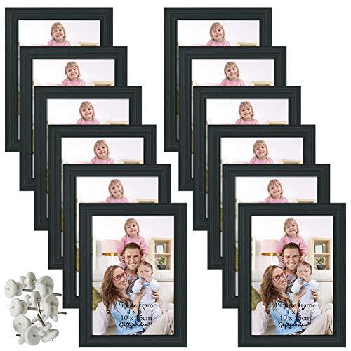 Giftgarden Conjunto de Marcos de Fotos 12 PCS 10x15