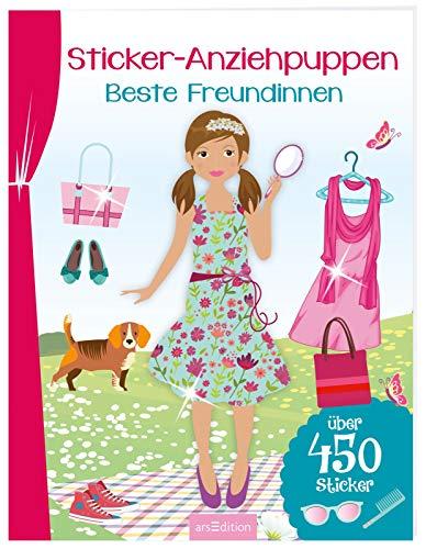 Sticker-Anziehpuppen - Beste Freundinnen: Über 450 Sticker