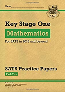 KS1 Maths SATS Practice Papers: Pack 2 (for the tests in 2018 and beyond)