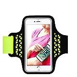 Brassard de Sport pour Samsung Galaxy S7/S6/S5, iPhone 8/8Plus/7/7 Plus/6S/6S Plus/6, protecteur écran sac Running Jusqu'à 5,5...