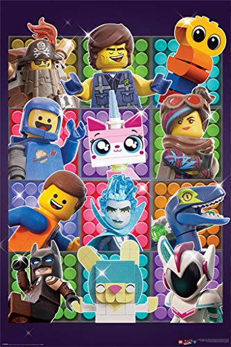 Pyramid International Poster Lego Movie 2, Cartón, Standard