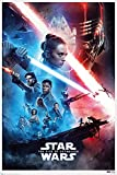 POSTER STOP ONLINE Star Wars The Rise Of Skywalker - Movie Poster (Regular Style - White Border) (Size 24 x 36')