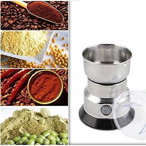 SOCHEP Multifunction Stainless Steel Household Electric Coffee All Bean Powder Grinder 300W Mixer Grinder (Multicolor)