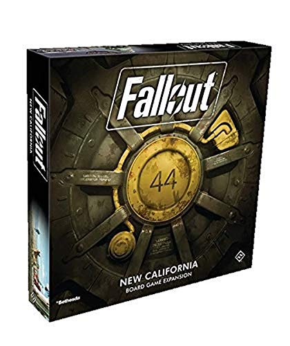 Fantasy Flight Games FFGZX03 Fallout New California Expansion