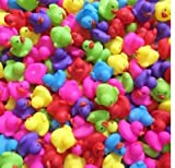 QWE 25-Pack-Assortment Rubber Duck Toy Duckies for Kids, Bath Birthday Gifts Baby Showers Classroom Incentives, Summer Beach and Pool Activity