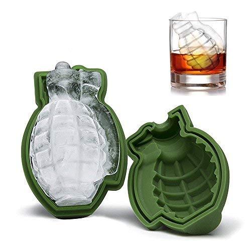 Three Co 3D Granada Forma Cubo de Hielo