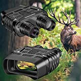 HHY Night Vision Binoculars Digital Infrared Camera Large Viewing Screen HD Image & Video Night Vision Goggles Spy Gear for Hunting & Surveillance with 32G TF Card