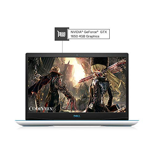 Dell Gaming-G3 3590 15.6-inch FHD Laptop (9th Gen Core i5-9300H/8GB/512GB SSD/Windows 10 + MS Office/4GB NVIDIA 1650 Graphics/White)