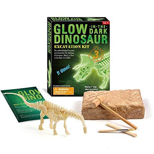 Dinosaurus Botopgravingskit Archeologische Wetenschap Educatief Spel Puzzel Voor Kinderen Tyrannosaurus Archeologisch Opgravingsspeelgoed Lichtgevend
