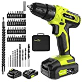 Cordless Drill - 20V Cordless Drill with...