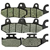 Foreverun Motor Front and Rear Brake Pads for Yamaha YXR 660 YXR660...