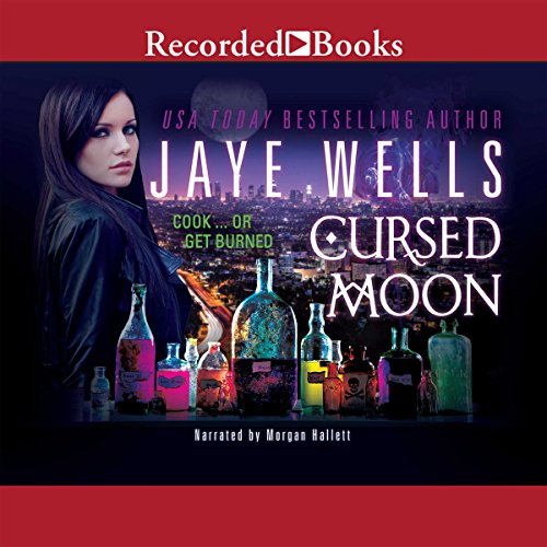 Cursed Moon audiobook cover art