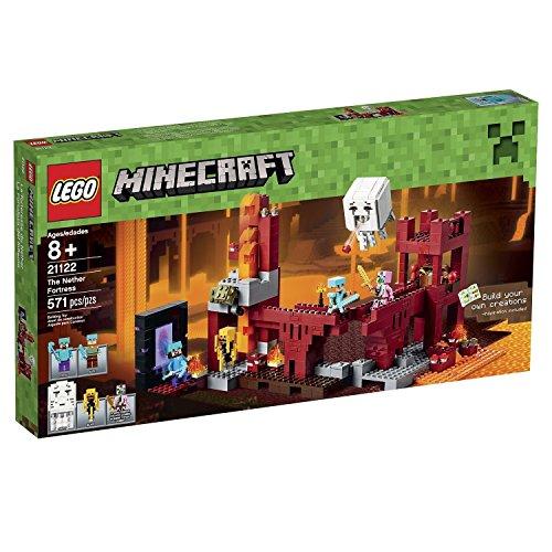 輸入レゴマインクラフト LEGO Minecraft 21122 the Nether Fortress Building Kit [並行輸入品]