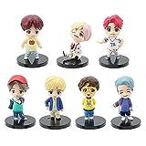 YUY BTS Egg Twisting Machine Doll Figura De Acción De Anime Juguetes para Grupos Juveniles Niños Niñ...