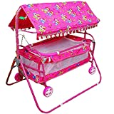 Baby Care Fun Cozy Newborn Babies Cradle, Swing, Jhula, Palna, Bedding, Bed, Crib