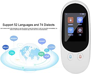 NBSXR 16 Sprachen Smart Translation Wireless Headset tragbares mehrsprachiges Bluetooth-/Übersetzungsger/ät zum Lernen von Gesch/äftsmeetings auf Reisen