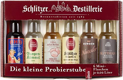"""Schlitzer Probierstube\""""Quer durch die Destillerie\"""" 6 x 0,02 l"""