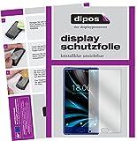 dipos I 2X Schutzfolie klar kompatibel mit Doogee Mix Lite Folie Bildschirmschutzfolie