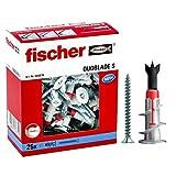 Fischer Duoblade S 545676 - Tacos de yeso autoperforante