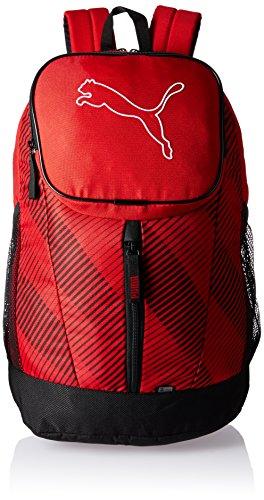 PUMA Rucksack Echo Backpack, Barbados Cherry, 30cm x 46cm x 18cm (26L), 074105 03