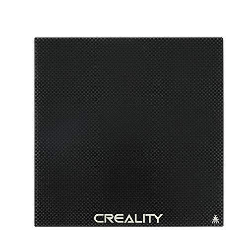 Creality ガラス ベッド 235x235x4mm 強化 カーボンシリコンクリスタル ガラス プラットフォーム Ender-3 Ender-3 Pro Ender-3X Ender-5に適用 3Dプリンター パーツ