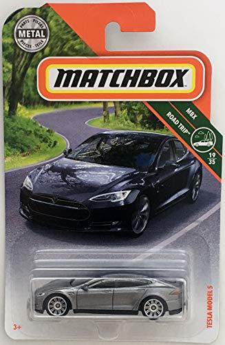 Matchbox Mattel Mainline MBX Road Trip - Tesla Model S