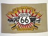 AZ FLAG Flagge Route 66 150x90cm - Road 66 Fahne 90 x 150 cm - flaggen Top Qualität