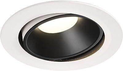 SLV NUMINOS® MOVE DL XL Plafonnier LED encastrable Éclairage intérieur 4000 K 37,4 W 3600 lm Blanc 20°