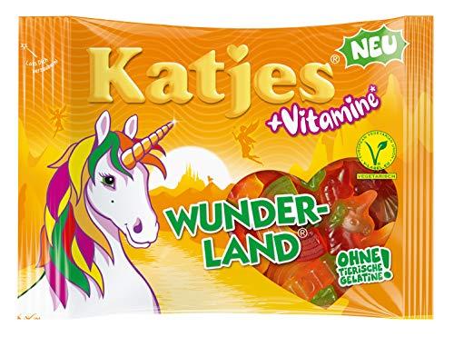 Katjes Wunderland + Vitamine Frucht, Apfel, Banane, Kirsche, Blutorangem, 6.7 Oz