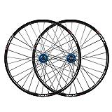 Accesorio de Bicicleta de Ejes de liberación rápid MTB Bicicleta Set de Ruedas de Bicicleta 26 Pulgadas Bicicleta de montaña Lámparas de Doble Pared Discal de Freno de Disco QR para 7/8/9/10 Cassette